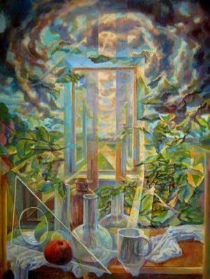 Light Turbulence, Vladimir Skripnik, 2015, oil, canvas, 60x80, ID1104
