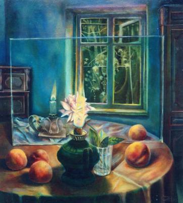 Free Verse, Vladimir Skripnik, 1993, Öl, canvas, 61,5x65,6, ID1354