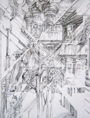 S002, Vladimir Skripnik, , Zeichnung, Papier, , ID1029