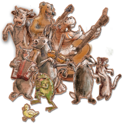 Instrumente Tiere