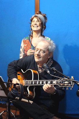 """Al Jam Session Music Studios con Sandro Gibellini (registrazione del disco """"Spirito del Vento"""" per Philology Records)"""