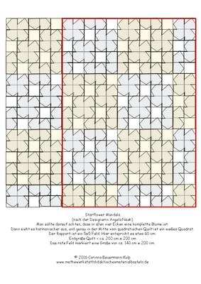 StarFlowerMandala.png um den eigenen Starflower Quilt zu planen. Kann man weiter oben downloaden.