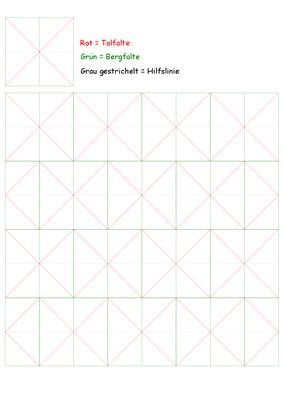 Faltraster für das Gürteltier/Origami    Melissa Silk Origami Raster.pdf