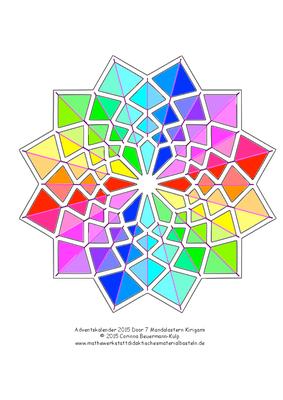 Türchen 7 Kirigami für Scherenschnittbilder (PDF Datei für den Plotter).
