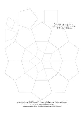 Zu spät! Türchen 17 Passacaglia Penrose Variante
