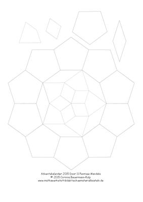 Zu spät! Türchen 11 Penrose Drachen