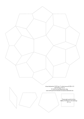 Die PDF Datei ist für einen A3 Drucker gezeichnet (oder im Copyshop ausdrucken)?