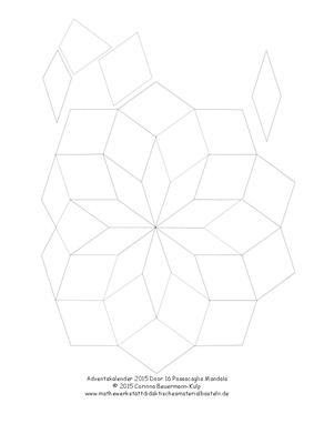 Zu spät! Türchen 16 Variante innen Mandala