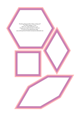 Wedding Hexagon Block Fabric Shape.pdf