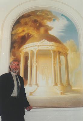 © Siegfried Schütze, Villa Fromberg Foyergestaltung, 1994