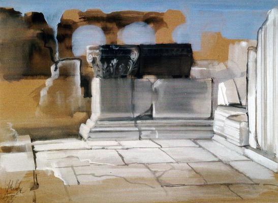 """© Siegfried Schütze """"Miletos"""" 1991"""