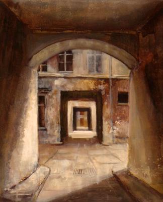 """© Siegfried Schütze """"Berliner Hinterhöfe"""" 1993"""