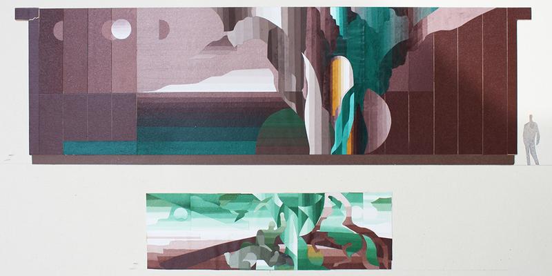 © Siegfried Schütze, Entwurfsvarianten und Ausführung, 1986