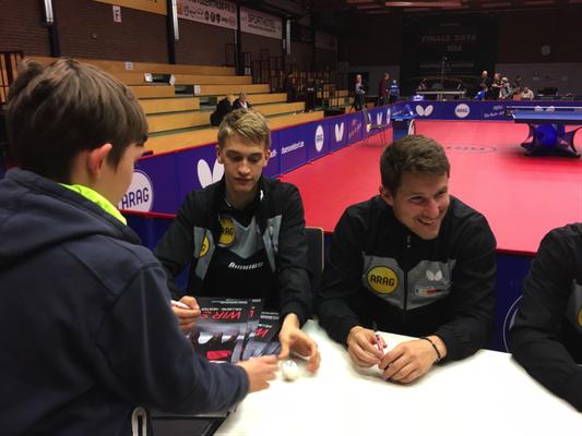 Meet and Greet mit Källberg und Karlsson
