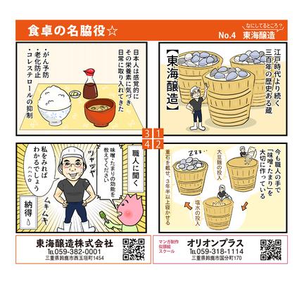 マンガイラスト制作 東海醸造