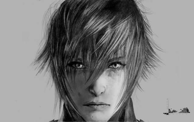 Final Fantasy - Noctis (Copy Drawing)
