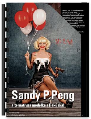 Tattoo Magazin Polen, Sandy P. Peng
