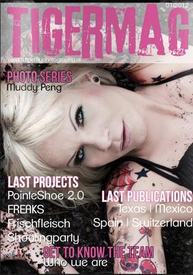 Cover Fotomagazin  | Sandy P. Peng