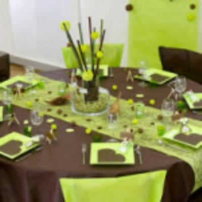 Décoration de table pour mariage, baptême, communion, anniversaire.