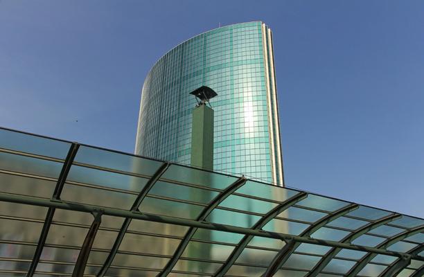 WTC en beurstraverse Rotterdam