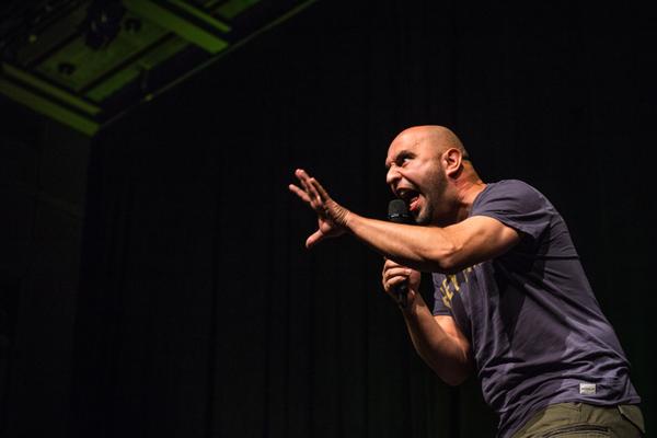 Serdar Somuncu live at Stadthalle Bielefeld, October 2015