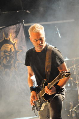 Soilwork live live in Herford, 28 November 2015