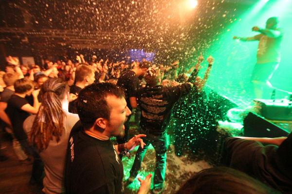Excrementory Grindfuckers live in Bielefeld, 20 December 2015
