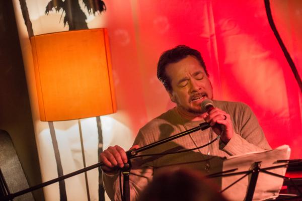 John Garcia live in Bielefeld, 6 December 2015.