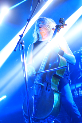 Apocalyptica live in Bielefeld, 3 October 2015