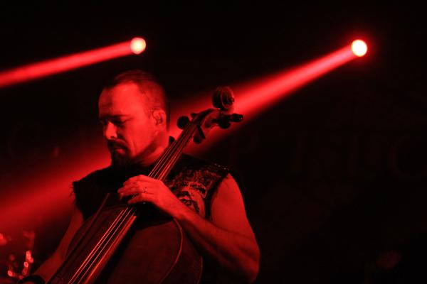 Apocalyptica live in Bielefeld, 3 October 2015