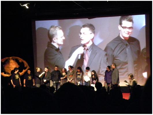 """2010: Mein Autorenfilm """"L. B. - Deadly Determination Of Cards"""" gewann den Publikumspreis beim Mittelfränkischen Jugendfilmfestival im Cinecitta' Nürnberg."""
