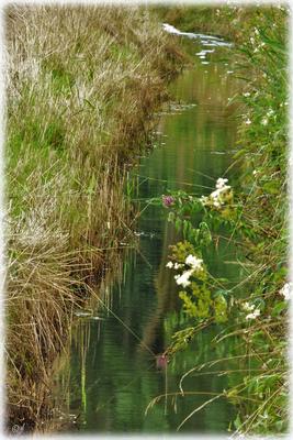 Wassergräben ...