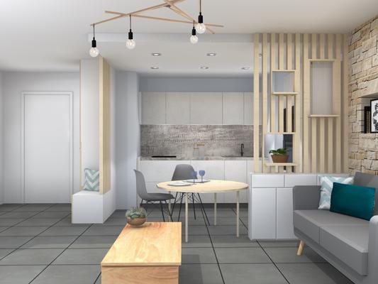 une pi ce vivre chaleureuse al int rieurs architecte d 39 int rieur et d coratrice lyon. Black Bedroom Furniture Sets. Home Design Ideas