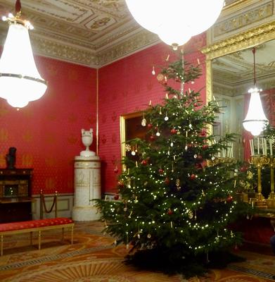 Der Weihnachtsbaum in der Albertina in Wien (Foto: Isabell Heep)