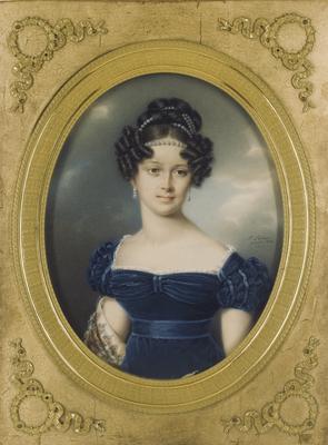 Prinzessin Henriette von Nassau-Weilburg (von Friedrich Johann Gottlieb Lieder (Sotheby's) [Public domain], via Wikimedia Commons)