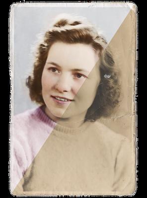 Fotorestauratie_inkleuren_oude_foto_portret