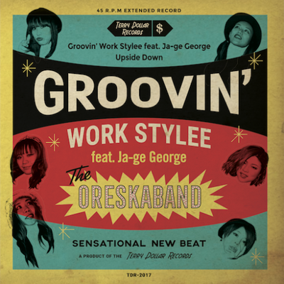 ORESKABAND『Groovin' Work Stylee』Vocal Recording Engineer