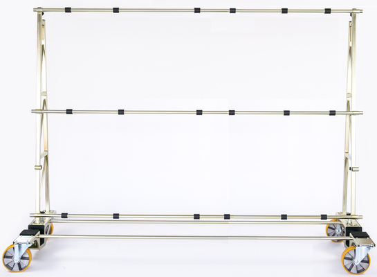 TSL 800 Glastransportwagen bis 800 kg Traglast ausziehbar 3 Meter transportsolution