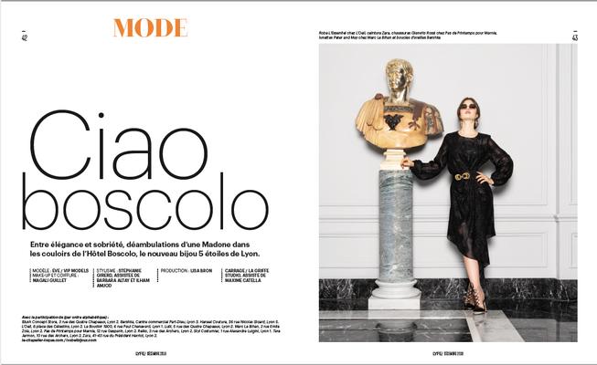 Photographe @Thomas Carrage/ Mannequin @Eve Dumon/ Styliste @Stephanie Girerd / DA @Lisa Bron/ MUAH @Magali Guillet