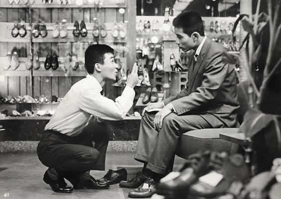 映画『花のセールスマン 背広三四郎』【1960年】?