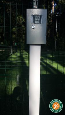 Устройство системы освещения спортивных площадок Офис: +7 (926) 608-06-38