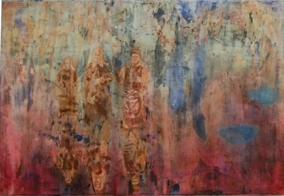 A passage of time 2015 Öl auf Leinwand 40 x 60 cm