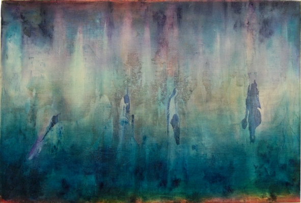 Deep inside 2015 Öl auf Leinwand 40 x 60 cm