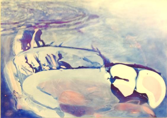 Back of Beyond 2017 Öl auf Leinwand 90 x 120 cm