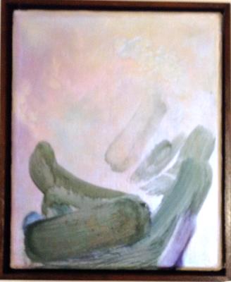 o.T. (Nr. 100) 2015 Öl auf Leinwand 24 x 20 cm