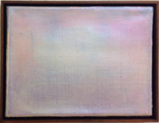o.T. (Nr. 94) 2015 Öl auf Leinwand 20 x 28 cm