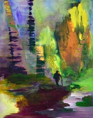 Mr. Turner Acryl/Öl auf Leinwand 50x40cm 2016