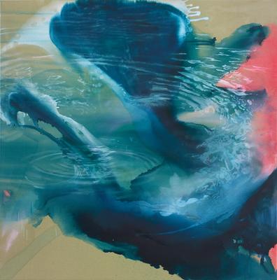 Auris 2015 Öl auf Leinwand 200 x 200 cm