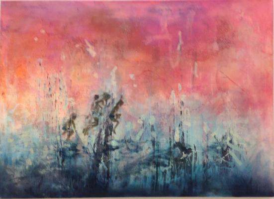Synergien 2012 Öl auf Leinwand 90 x 120 cm