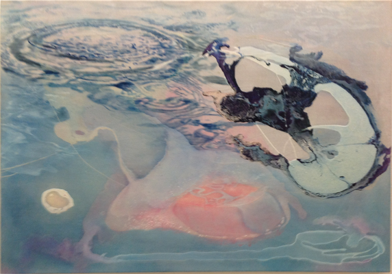 warm 2017 Öl auf Leinwand 90 x 120 cm